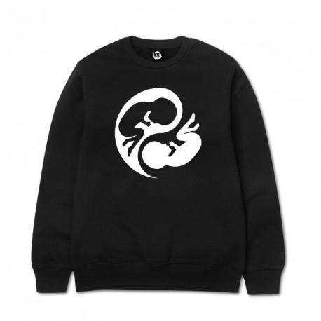 Sudadera CN Negra Logo AYP